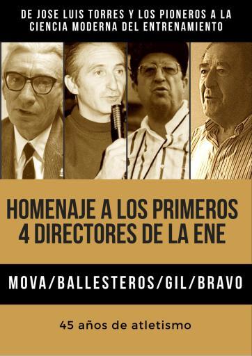 4 primeros Directores ENE